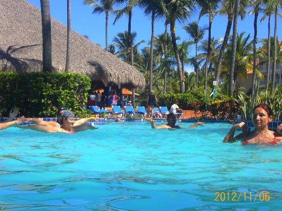 Occidental Caribe: Aqua aerobics