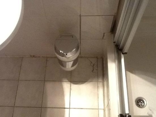 Hotel Senator : Flecken im Bad