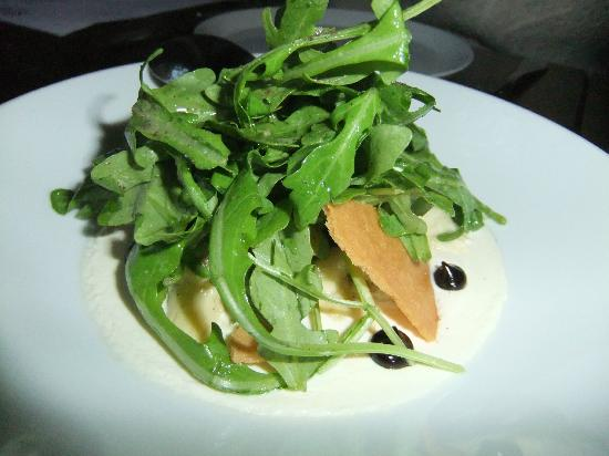 Spur Gastropub: Baby Artichokes, Arugula and Smoked Yogurt