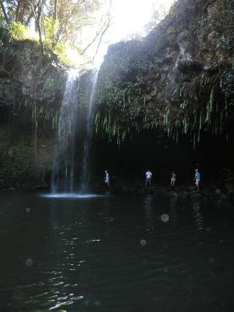Maui, HI: Second Twin Fall Waterfall
