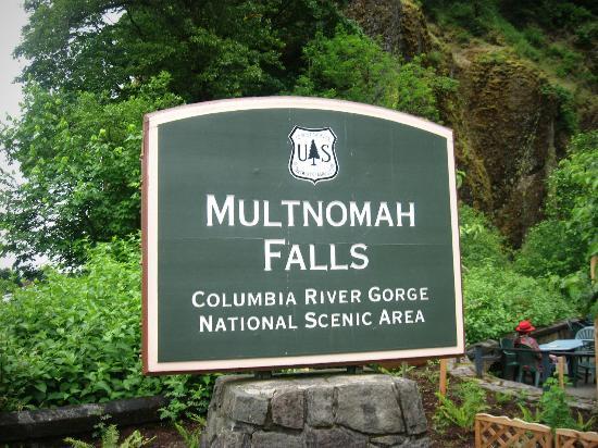 Oregon Coast, OR: Entrada de las cataratas