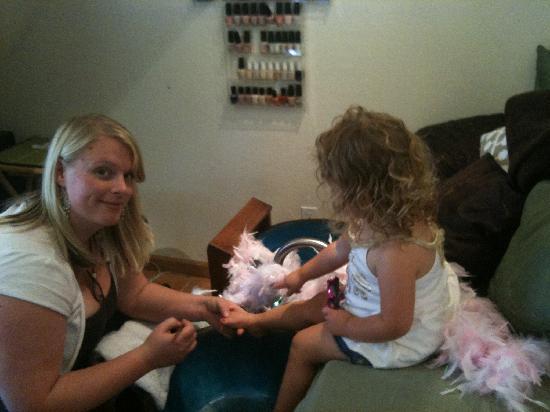 Salon 360 and Day Spa: kids pedicure