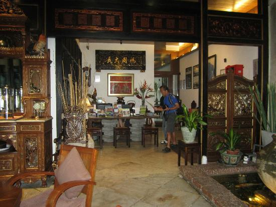 Courtyard @ Heeren Boutique Hotel: Courtyard @Heeren Reception Area