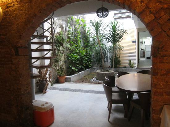 Courtyard @ Heeren Boutique Hotel: Courtyard Cafe