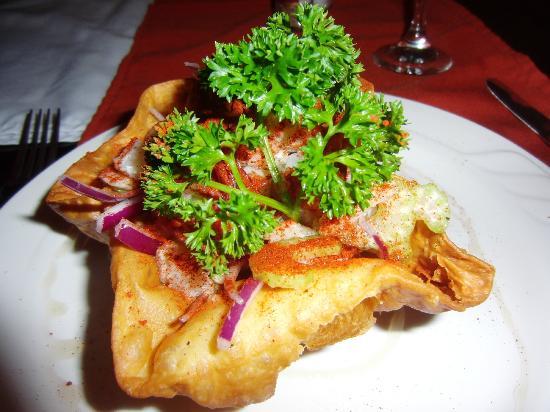 El Olivo Restaurant - Sea bass ceviche