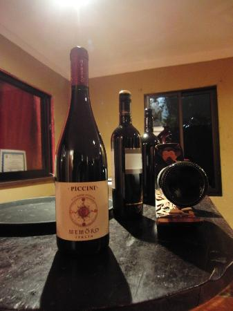 El Olivo Restaurant - wines