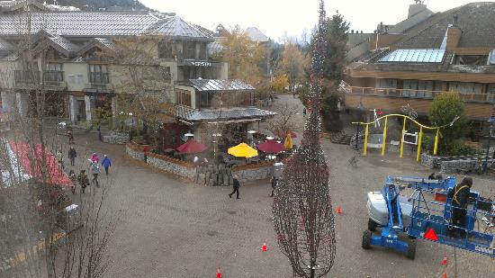 Blackcomb Lodge: View from our room 216