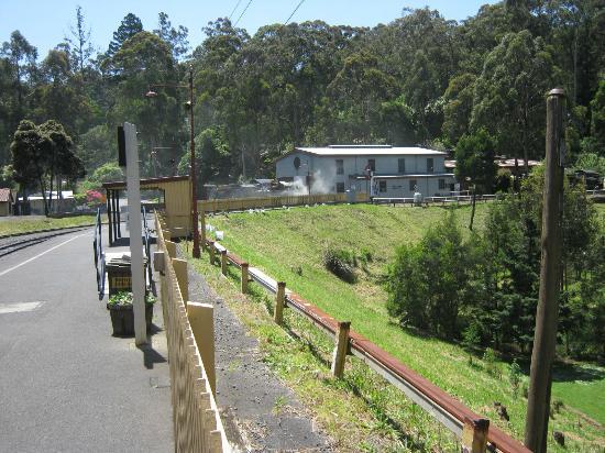 Linia kolejowa Puffing Billy: Belgrave station start