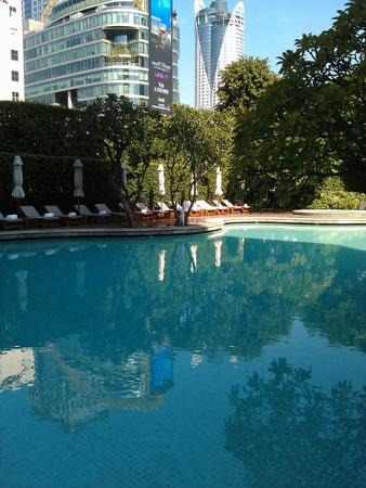 Grand Hyatt Erawan Bangkok: Grand Hyatt Erawan Pool
