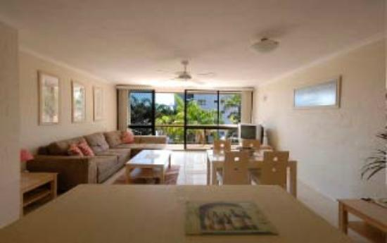 Burleigh Palms Holiday Apartments: 1 bedroom apartment 2nd floor