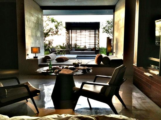 Alila Villas Uluwatu: morning view from our bed