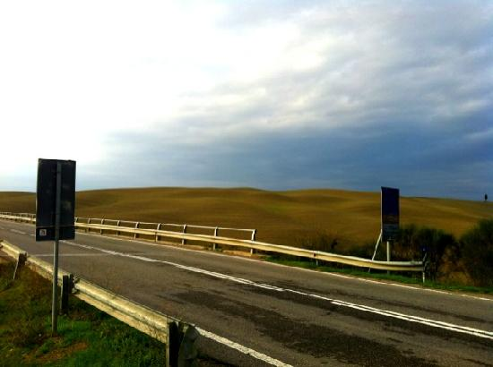 Montalcino, Italia: road