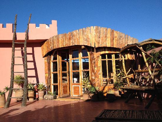 Casa Guapa de Tamuziga: auf der Terrasse