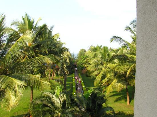 Chalston Beach Resort: view from room