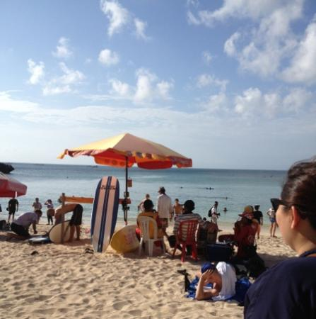 Padang Padang Beach: where the surfers hang out
