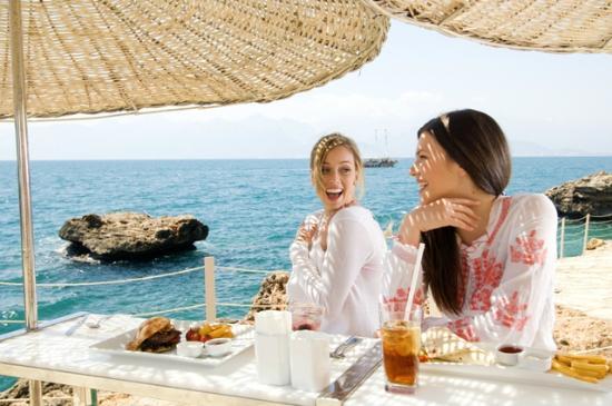The Marmara Antalya: Private Beach
