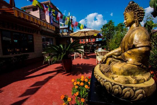 Hotel Tibet: Hotel Terrace