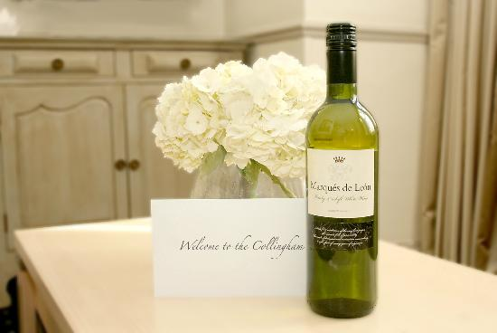 Collingham Serviced Apartments: Welcome gift