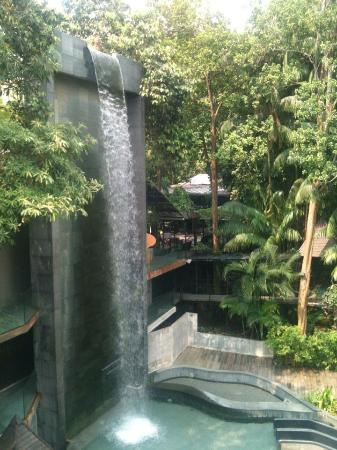 Siloso Beach Resort Sentosa Waterfall Pools