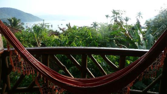 Pousada Naturália: Chambre vue sur mer