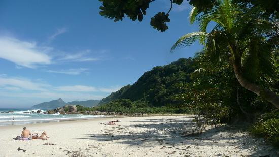 Lopes Mendes Beach: 1ere vue sur la plage