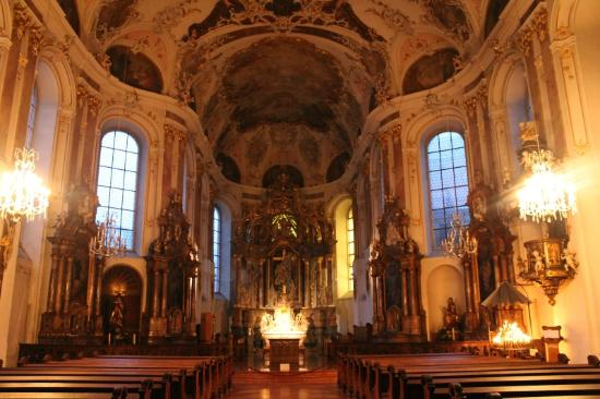 Walking Mainz: Augustinian Church