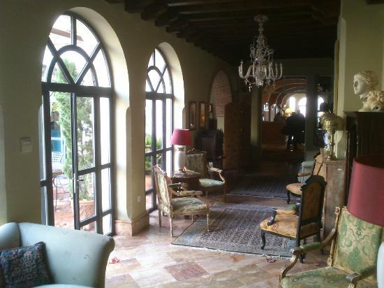Cazalla de la Sierra, España: Salón hotel