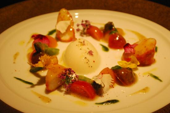 Joel Robuchon Restaurant: Seasonal fruits