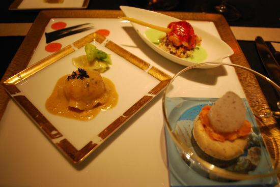 Joel Robuchon Restaurant: Crustaceons