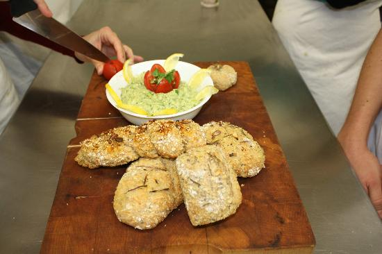 The Bistro & Cookery School: The finishing product