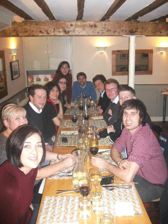 The Bistro & Cookery School: The evening meal