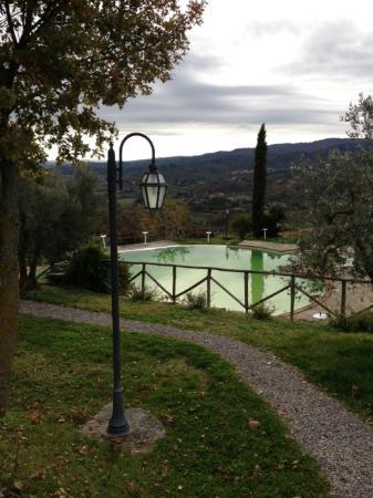 La Solaia: piscina