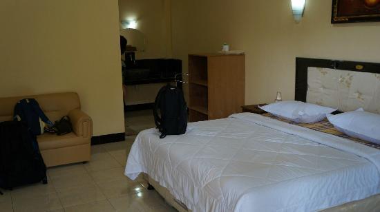 Central Inn: room