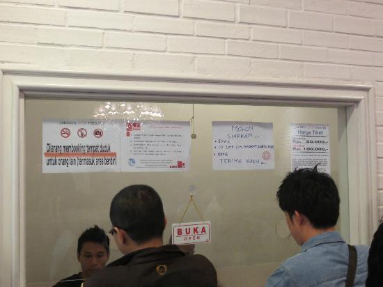 JKT48 Theater : JKT48劇場、チケット販売窓口