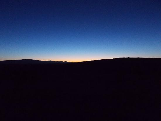 Rolbaken Country Guesthouse & Cape Mountain Zebra Reserve : Sunset @ Rolbaken
