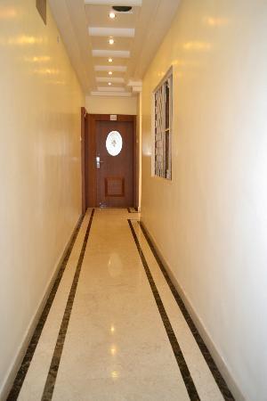 Hotel Kusum: Corridoor