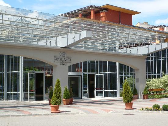 Hotel Azur: Inkom