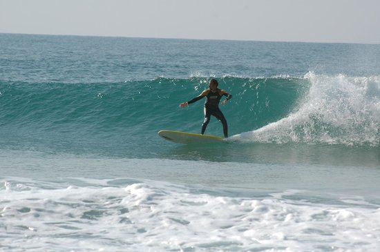 Good Feeling Hostel: Some surfing around (4 km to the hostel)