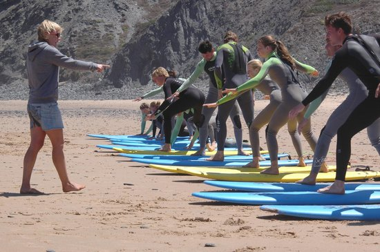 Good Feeling Hostel: Our activity Surf lessons