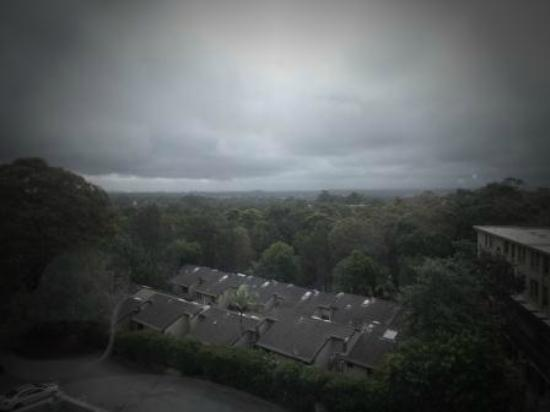 Royal Pacific Hotel: Grey day, but view was fine