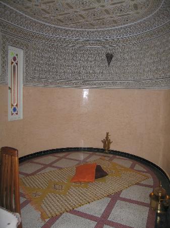 Dar Zidane: Meditation area off livingroom
