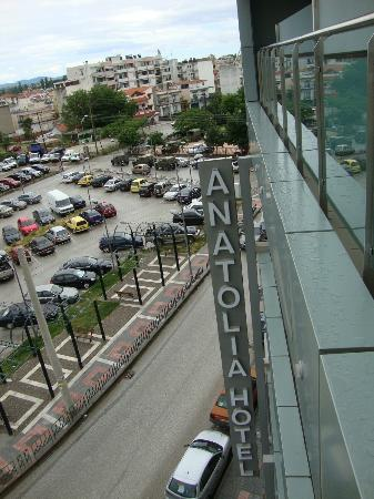 Anatolia Hotel: View from Apartment