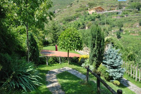 Hotel Cal Nen: jardinets , jardines Hotel