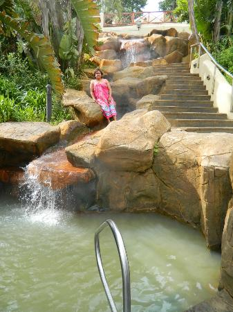 Caledon Hotel, Spa, Casino : Hot Water Natural Spring