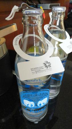 Rembrandt Hotel Bangkok: complimentary bottles of drinking water