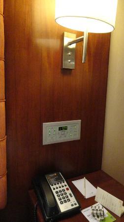 Rembrandt Hotel Bangkok: bedside console