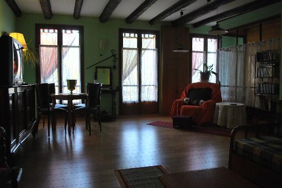 Hotel Cal Nen: sala d'estar , salón