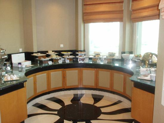 Al Murooj Rotana: Afternoon Tea in Club Lounge