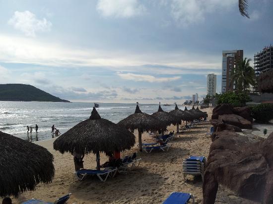 El Cid Castilla Beach Hotel : Playa del hotel