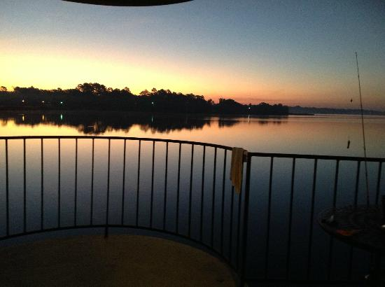 The Landing at Seven Coves : fishing at sunrise..what a view!